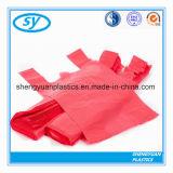 HDPE и LDPE T- кофта пластиковые сумки для покупок супермаркет