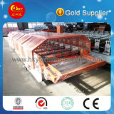 Exportar laminação de telhado de aço padrão e painel de parede Roll formando máquina de fazer