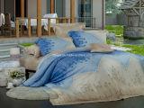40s Tencel mit der reagierenden gedruckten Bettwäsche eingestellt (1211019)