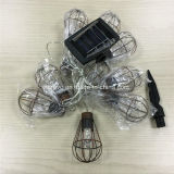 Nuevo Jardín Solar de la luz de la cadena de la jaula para la decoración (RS1007)