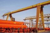 貨物ヤードの貨物処理の起重機のガントリークレーン