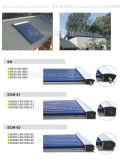 Keymark Certified Evacuated Tube Heat Pipe Solar Collector (SR) avec Solar Keymark