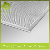 600*600mm Sound-Absorption Lay-metal de aluminio en azulejos de techo con SGS
