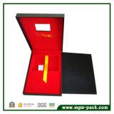 Contenitore di regalo dell'oro-carta del cartone di alta qualità
