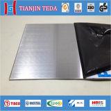 Lisco 201/202 prix de feuille de plaque d'acier inoxydable