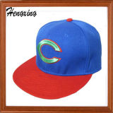 3D刺繍の濃紺の急な回復の帽子