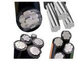 Het daling-Aluminium Duplex/van Triplex Kabel ABC,/van de Dienst Quadruplex de Kabel van de Macht (AAC AAAC ACSR)