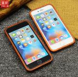 عالة ينحت أساليب خشبيّة هاتف حالة لأنّ [إيفون] 6 [6س] تغطية متحرّكة