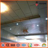 Panneau d'aluminium de composé de la décoration 4mm 0.2mm de plafond de bureau d'Ideabond