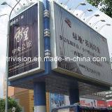 Prueba de agua al aire libre vertical cartelera publicitaria Tri-Vision