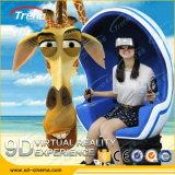 Juego de entretenimiento dinámico de Realidad Virtual 9D Cine Vr huevo Simulator
