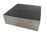 Convertitore catalitico del favo del metallo del substrato del metallo del favo