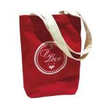 熱伝達の印刷によるかわいい綿のハンドバッグ