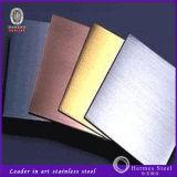Vendita calda 304/316/201 strato dell'acciaio inossidabile di rivestimento del raso di no. 4