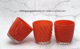 Goede Kwaliteit ISO 9001 de Kop /Candlestick van het Glas Houder van de Certificatie van de Kaars