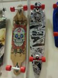 ABS/PP het materiële StandaardSkateboard Van uitstekende kwaliteit van Ce van de Wielen van Pu (et-SK2801)