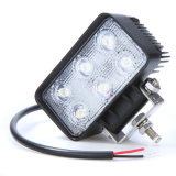 Luz de trabajo Wholsale 18W 24V Flood LED Bar