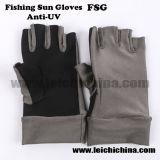 Sun перчатки для защиты УФ вещевого ящика лед промысла для использования вне помещений рыболовные перчатки