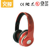 Écouteur sans fil stéréo de Bluetooth de sport rouge