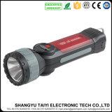 projector recarregável branco/vermelho do CREE de 10W 280lm do diodo emissor de luz do estroboscópio com USB
