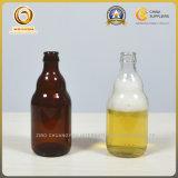 Bierflasche des erhältlicher Stich-leere bernsteinfarbige Glas-330ml (495)