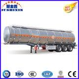 3 Eje 36cbm aleación de aluminio de Diesel / Gasolina / Utilidad / gasolina / combustible / gasolina / aceite / material líquido de camiones cisterna Semirremolque