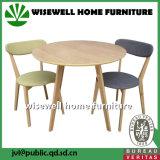 4개의 의자 (W-DF-0678)를 가진 오크재 홈 가구 식탁