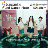 Partito portatile Dance Floor di vetro Tempered LED