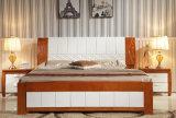 Festes hölzernes Bett-moderne doppelte Betten (M-X2254)