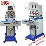 L'encre 3 couleurs semi- automatique machine de tampographie électrique Pad imprimante