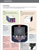 Gpz 7000 de Hand van de Detector van de Detector van het Goud/van het Metaal/van de Diamant/van de Gem - gehouden Metaal Detactor