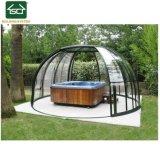 Un bain à remous boîtier escamotable/ Boîtier Hot Tub