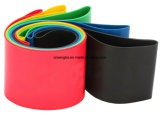 Aptitud elástico del ejercicio del bucle de la goma de la resistencia de la yoga de 5 colores