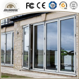 Portes en verre en plastique de tissu pour rideaux de mode d'usine de la fibre de verre bon marché neuve UPVC/PVC des prix avec des intérieurs de gril