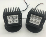 24W Dually Cube направленного/заливающего кри светодиодный индикатор рабочего освещения на джипе (GT1022-24W)