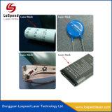 On-line полет портативный станок для лазерной маркировки волокон для телефона и уплотнительные кольца