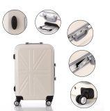Valigia BRITANNICA del reticolo della bandierina, bagagli di alluminio del blocco per grafici di modo (XHAF040)