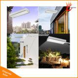 800 lm parede com luz solar de LED de luz solar de Rua Jardim Exterior