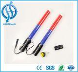 Bastón estándar del tráfico del Portable LED de la alta calidad/bastón del tráfico que contellea