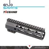 Picatinny Rail Handguard Keymod composite en fibre de carbone (G05M15)