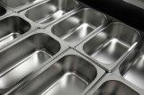 Congélateur d'étalage de crême glacée d'usine pour l'usage commercial