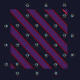 Шарф печатание квадрата логоса нестандартной конструкции чисто Silk для Предпринимательства Компании
