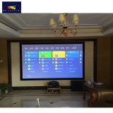 Xyscreen 160 дюйма HK80C-Max4K высокое качество домашнего кинотеатра 16: 9 акустический экран проектора с фиксируемой рамой