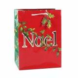 Супермаркет рождества Обхватывать-Связывает мешки подарка одежды игрушки бумажные