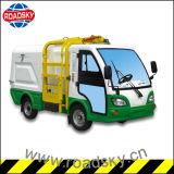 電気自己回転側面のローディングの屑のごみ収集車の小型不用なトラック