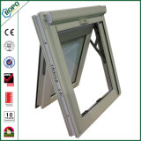 Finestra resistente agli urti della tenda di uragano del PVC con lo schermo