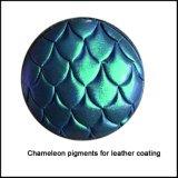 Cuero del instinto de la croma del camaleón/surtidor de cuero artificial del pigmento