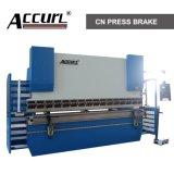 """Máquina de dobra do metal de folha do freio WC67Y-200T/4000,4000mm da imprensa hidráulica de 200T de """"AccurL """" do tipo de INT'L, máquina de dobra hidráulica WC67Y-200T/4000 da placa"""