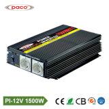 Paco hors réseau 1500W 12V DC Convertisseur auto voiture alimentation CA