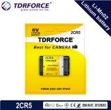 3V (CR123A/CR17335) 5 anos bateria do lítio Li-Mno2 de Dicharge China Fatory do auto da vida útil de baixa